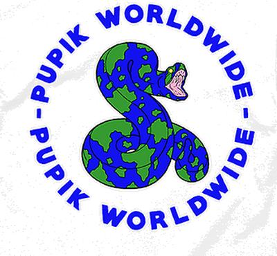 pupik worldwide snake globe 400